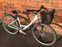 Adventure Ladies Town Bike. Serviced, Good condition. Free Lock, Lights, Delivery.