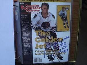 "FS: NHL Beckett/C.S.C. ""Autographed"" Back Issues London Ontario image 5"