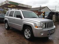 Jeep Patriot 2.2 CRD Limited 5dr (silver) 2010