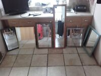 5 x mirrors for sale from £3-£7