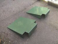 NEW/UNUSED TRAILER / CONTAINER / KERB RAMPS VERY HEAVY DUTY... £25 EACH..