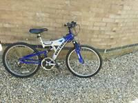 "BoysAvalanche 23"" Pro Bike With Full Suspension"