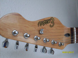 Encore electric guitar righthanded