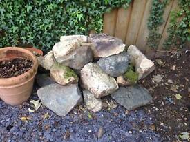 Garden stones for free