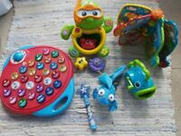 Large selection of toys for sale. Mainly Vtech & ELC. Excellent condition.