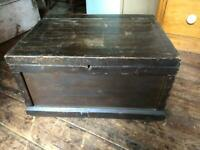 Old tool box wooden