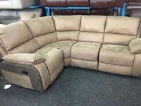 New/Ex Display Mink LazyBoy Recliner Corner Sofa [ left or right corner sofa ]