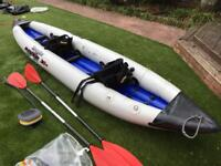 Kyak inflatable 2 person accessories inc