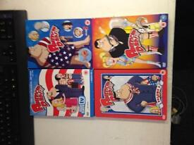 American Dad volume series 1-4 DVD TV Boxset Show complete collection