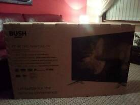 BUSH 49 INCH 4K ULTRA HD SMART LED TV WITH BUILT IN WI-FI - BRAND NEW