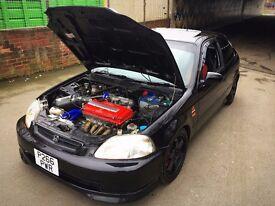 Honda Civic EK B16 DOHC VTEC 1.6 not eg ep3 dc2 dc5 ek9 type r s b18 k20 turbo