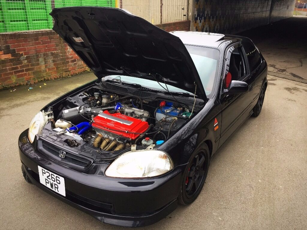 honda civic ek b16 dohc vtec 1 6 not eg ep3 dc2 dc5 ek9 type r s b18 k20 turbo in horsforth. Black Bedroom Furniture Sets. Home Design Ideas