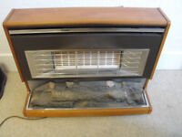 Vintage Gas Fire Excellent Condition 60's 70's Retro Delivery Possible