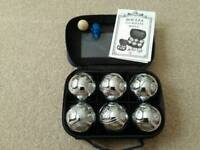 Boules game and carry case