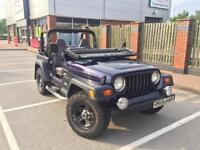1998 Jeep Wrangler TJ 2.5l petrol manual - soft top - 4x4