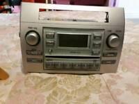 Toyota corolla verso 2004 original stereo