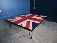 Union Flag Coffee Table