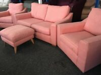 NEW - EX DISPLAY John Lewis DOMA 2 SEATER + 1 SEATER + 1 SEATER SOFAS, 70% Off RRP SA