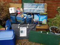 Full camping gear. Inc electric hook up. Plus extras Collection only.