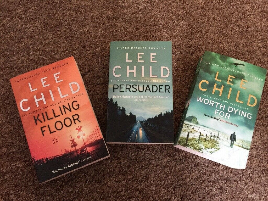 Lee Child's books