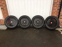 "Bbs lm reps 20"" 5x120 with tyres Vw t5, Bmw, vivaro etc"