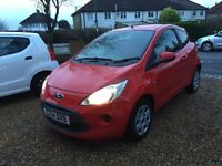 2014 FORD KA EDGE RED FULL SERVICE HISTORY CAT D ONLY 26,000 MILES COVERED SUPERB CONDITION