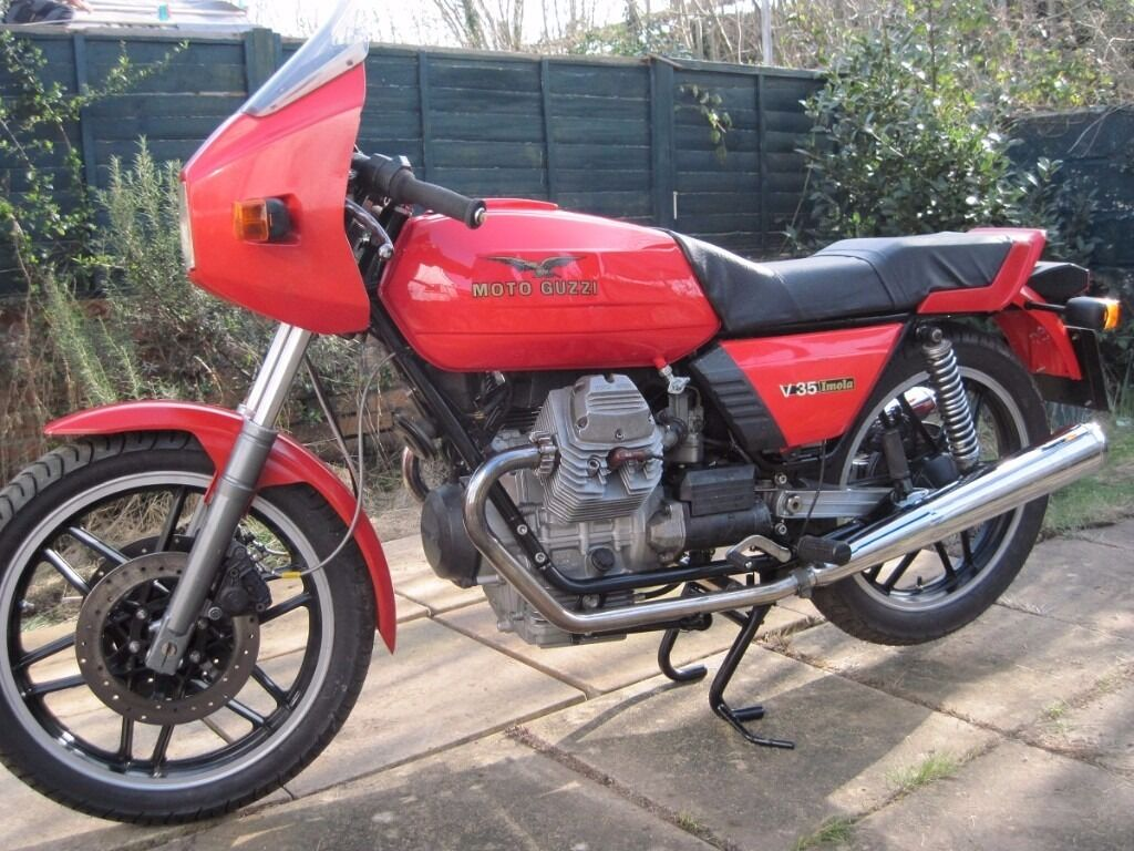 moto guzzi v35 imola 1982 in whitchurch cardiff gumtree. Black Bedroom Furniture Sets. Home Design Ideas