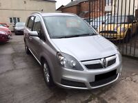 Vauxhall Zafira 1.8 i Active - 2006, FSH 11 Services, 1 Owner from new, 12 Months MOT, 2 Keys, £1995