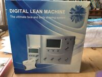 Digital lean machine face and body shaping system