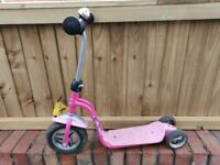 Girls Puky Scooter R1 Lovely Pink Age 2-5 Years Height 85 -105 cm RRP