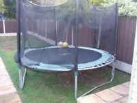 Plum 12ft Trampoline All ok but Ideally Needs A New Safety Net