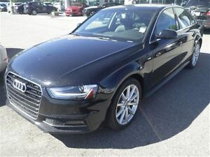 2015 Audi A4 2.0T Premium-Auto-Leather-Sunroof-NAV