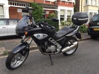 BMW F650 CS motorbike