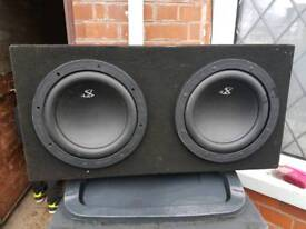 Subwoofer twin very loud