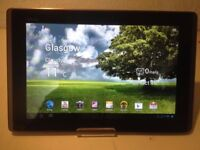 Asus tablet great condition perfect working and very fast big screen 10.1