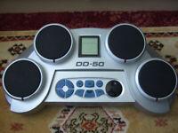 DD-50 Tabletop Drum Kit with Built in Rhythms and Game ( Digital Drums )