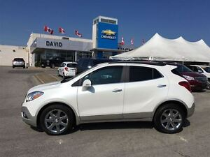 2016 Buick Encore LEATHER FWD, SAFETY PACKAGE, NAVIGATION!!
