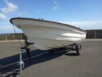 13 foot boat plus engine
