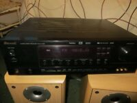 Sherwood RD-6106R AV receiver amplifier plus Eltax front and centre speakers