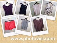 Womens size 16 various clothes bundle - 7 items - tops and pair of shorts