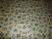 floral wipe clean tablecloth