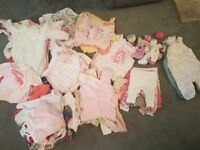 Large Baby Girls 0-3 Month Clothes Bundle EXCELLENT CONDITION £35