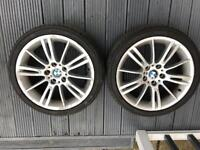 BMW MV3 alloys wheels e91