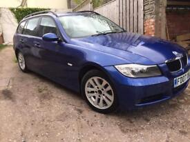 BMW 320d touring 12 MONTHS MOT price lowered quick sale needed