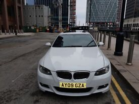 2009 BMW 320i Coupe M Sport White Sunroof Perfect L@@K RARE CAR!