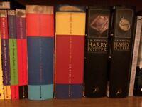 Complete Harry Potter book set