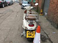 PIAGGIO VESPA ET4 cream 2001 excellent runner hpi clear!!