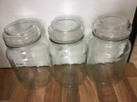 Empty Douwe Egbert coffee jars ideal for craft