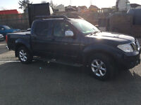 Nissan Navara 2.5Ltr Diesel Automatic Tekna Pick Up Truck, 1 Year MOT, Only 50000 Miles