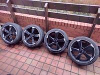 SINGLE WHEEL Audi Volkswagen Rotor 18'' Alloy Wheels Can Sell Single Can Post Can Part Ex